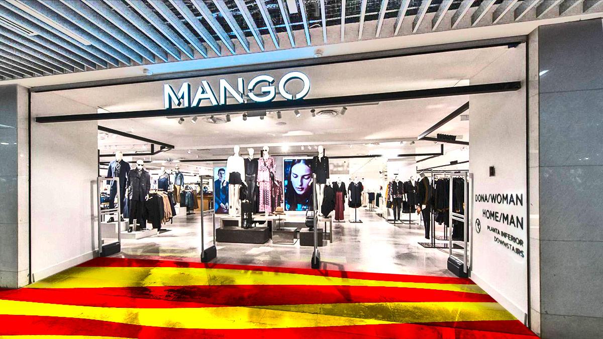 Mango también veta el español de sus tiendas en Cataluña pero dice ahora que rectificará