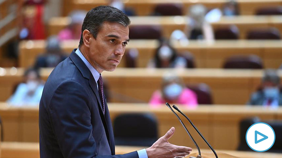 Pedro Sánchez lamenta la muerte de un terrorista de ETA en el Senado