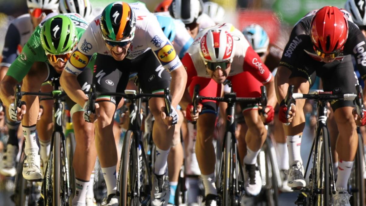 Tour de Francia 2020: clasificación de la etapa de hoy, martes 8 de septiembre. (AFP)