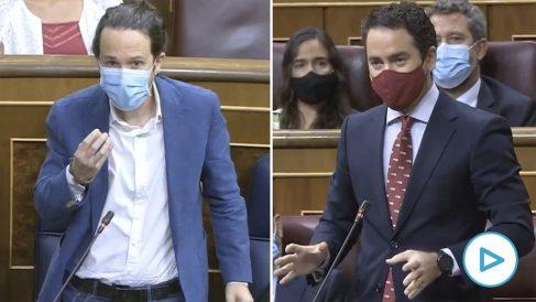 Pablo Iglesias no puede con Teodoro García Egea e intenta burlarse de su acento murciano: «Vocalice un poco más».