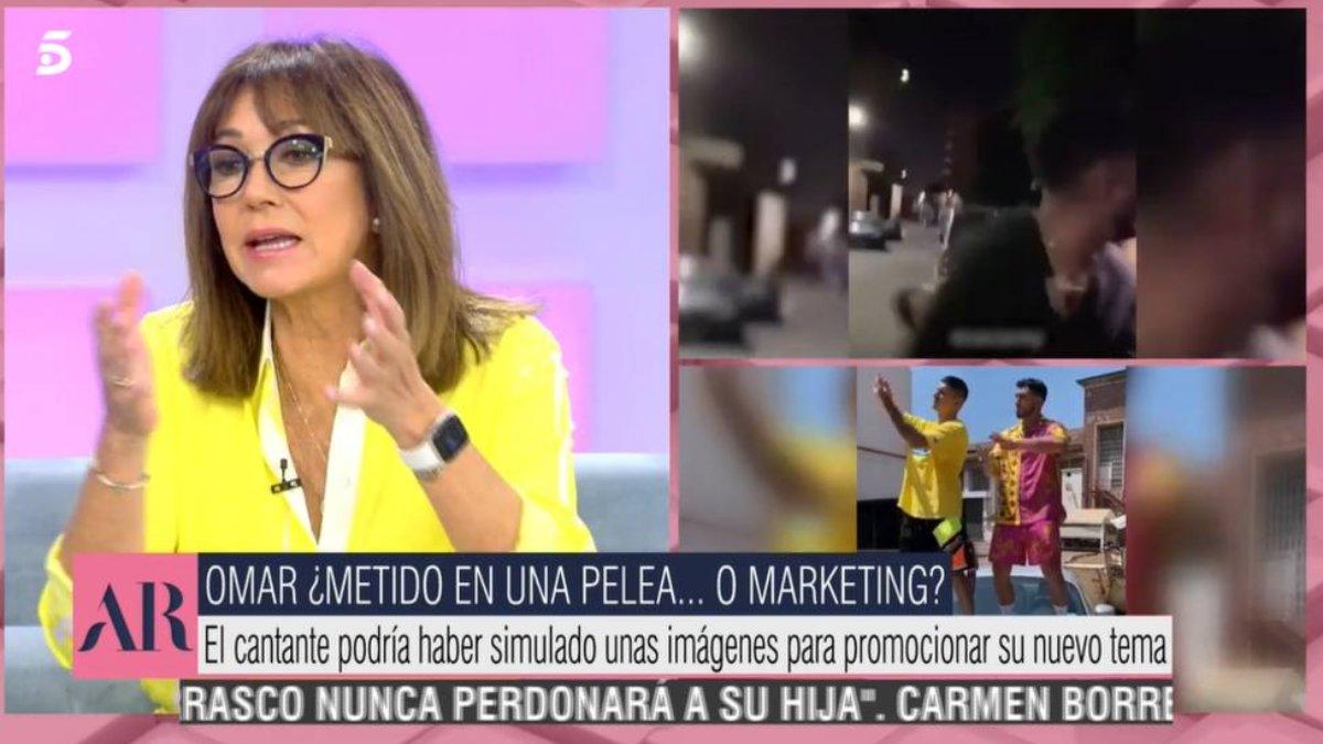 Ana Rosa Quintana habló de Omar Montes