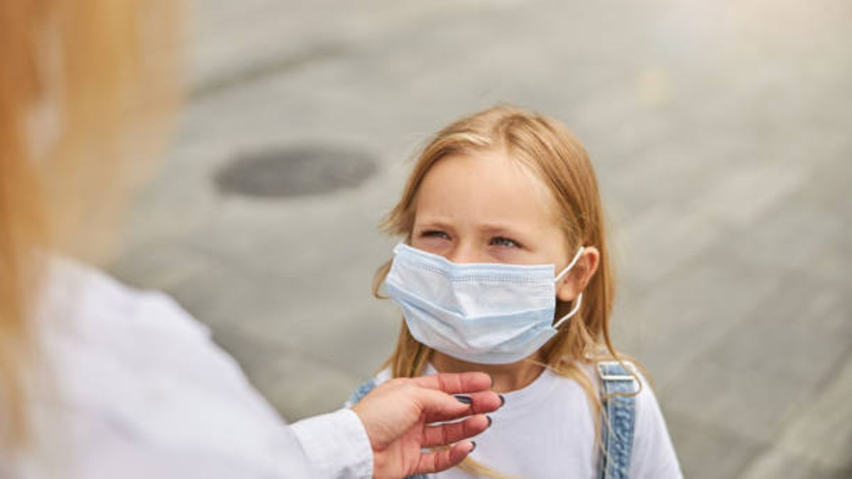 Casos en los que no es necesario que los niños lleven mascarilla