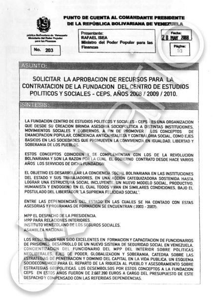 El 'narcoministro' El Aissami contrató a la fundación de Iglesias para adoctrinar a los carceleros venezolanos