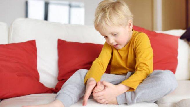 dolor crecimiento niños