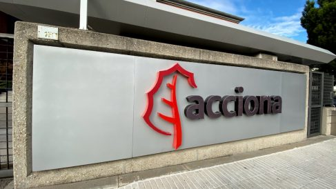 Edificio de la sede de Acciona en Madrid.
