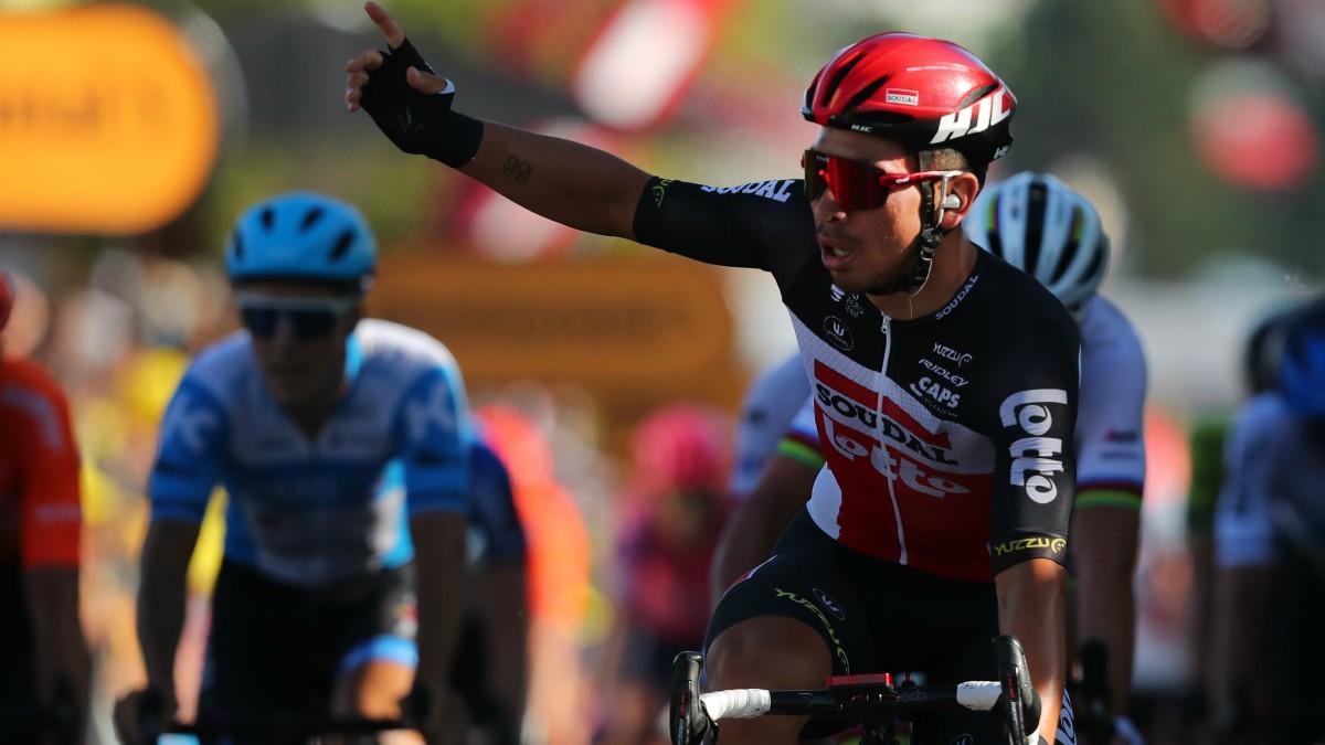 Ewan gana la etapa 11 del Tour. (AFP)