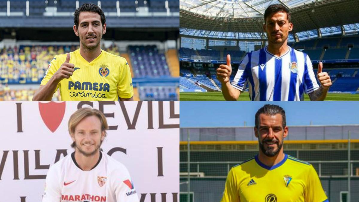 Parejo, Silva, Rakitic o Negredo, algunos de los mejores fichajes de la Liga 20-21.