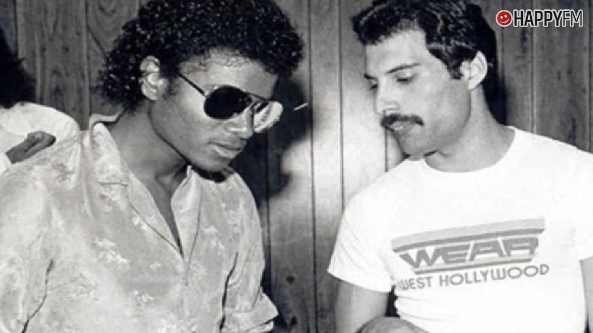 Freddie Mercury y Michael Jackson