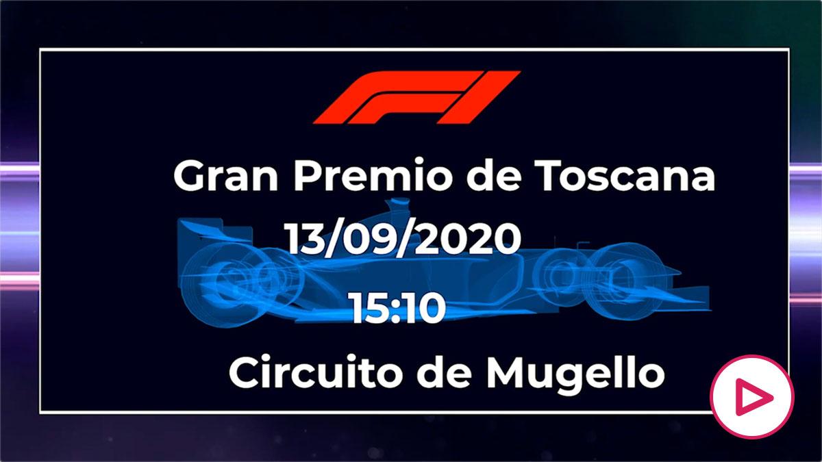 Fórmula 1 Toscana 2020: horario y dónde ver en directo el GP de Italia por TV.