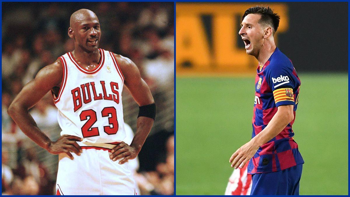 Michael Jordan y Leo Messi, vidas paralelas.