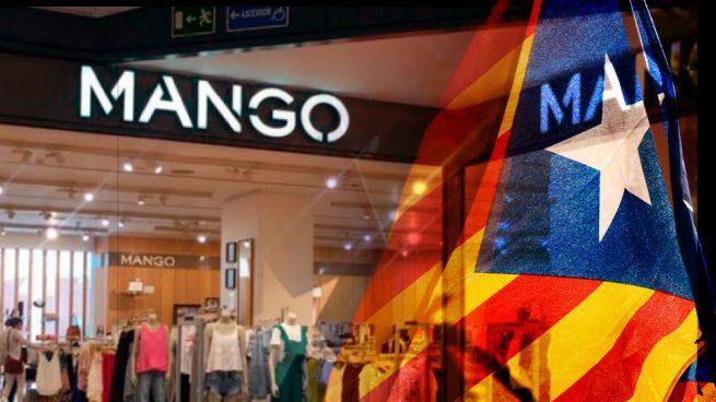 Mango empieza a cambiar la cartelería de sus tiendas en Cataluña para restituir el idioma español