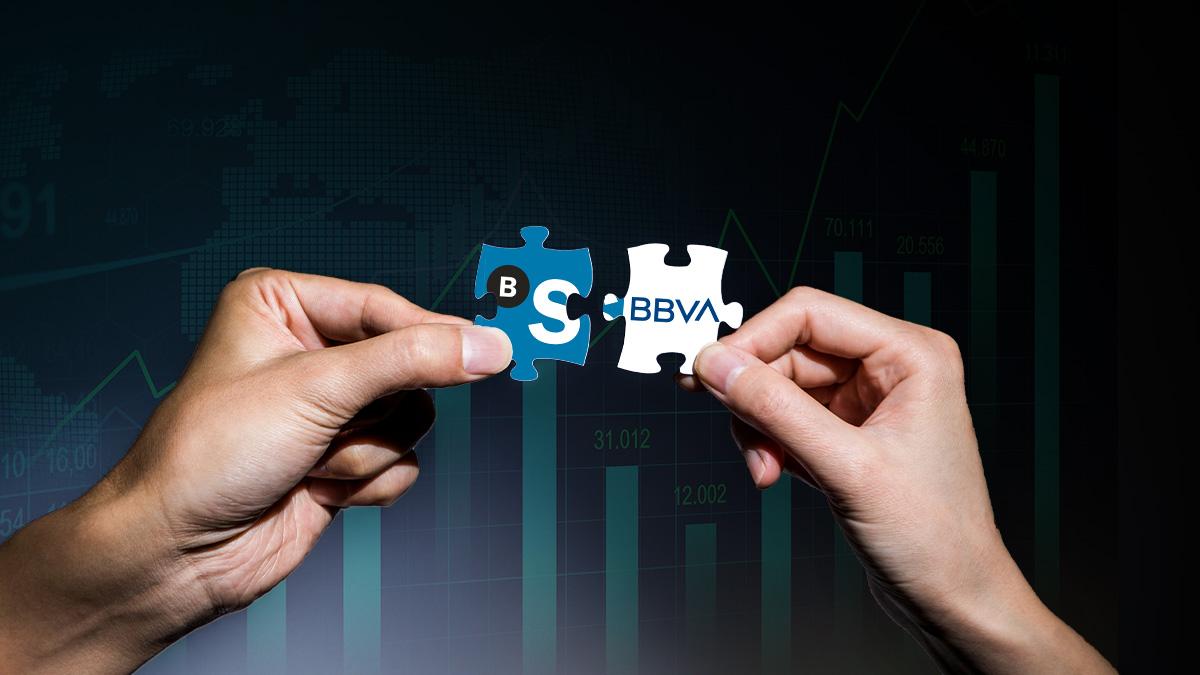 El mercado ve con buenos ojos una futura fusión entre BBVA y Banco Sabadell