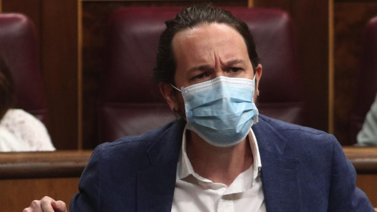 Pablo Iglesias en el Congreso de los Diputados. (Foto: Pool)