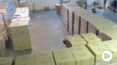 La Policía recupera más de 3 millones de guantes y mascarillas contra el covid robados en Madrid