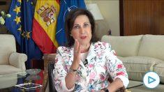 Robles le da una lección a Iglesias- La ley dice que el presidente está por encima del vicepresidente.