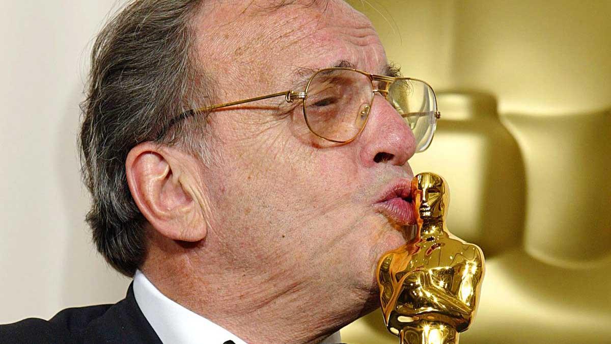 Ronald Harwood, guionista ganador del Oscar en el año 2003 por 'El pianista'. Foto: AFP