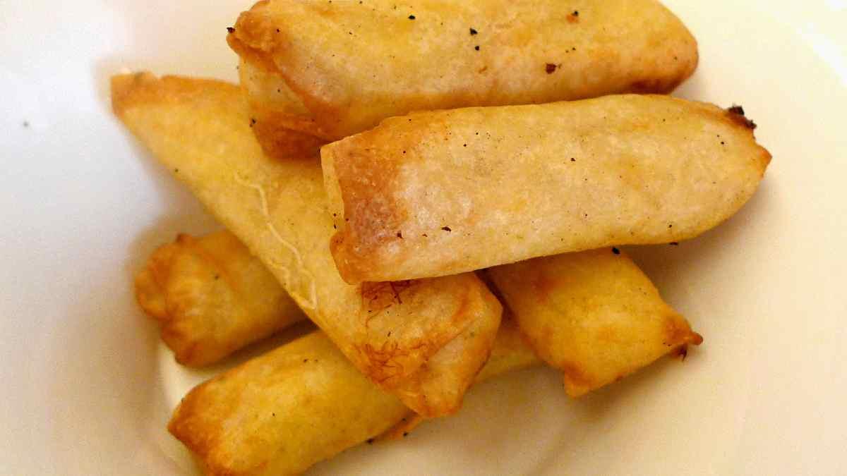 Receta de San Jacobos de pescado con mayonesa de sésamo