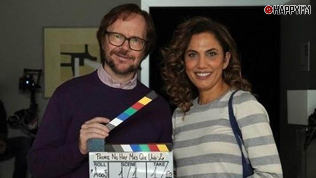 Toni Acosta y Santiago Segura