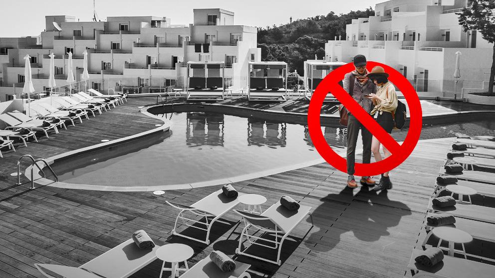 Barceló acusa la falta de turistas internacionales
