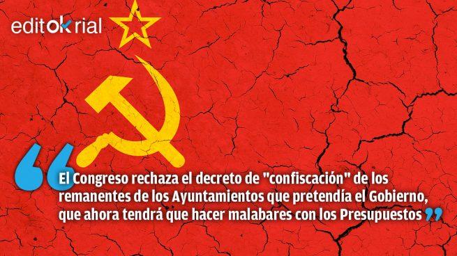 Castigo a la soberbia socialcomunista