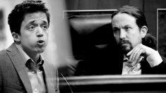 Iñigo Errejón y Pablo Iglesias.