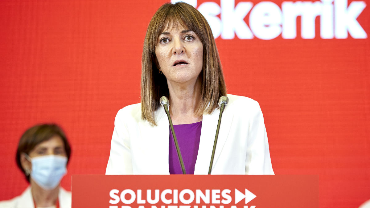 Idoia Mendia, vicelehendakari y secretaria general del PSOE vasco. (Foto: Europa Press)