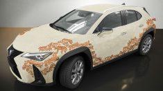 Uno de los candidatos en las votaciones de la 2ª Edición del Concurso de Diseño Lexus UX Art Car. (lexus.com)