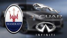 Las marcas de lujo del automóvil frenan en seco: Maserati, Jaguar o Infiniti hunden sus ventas hasta un 95%
