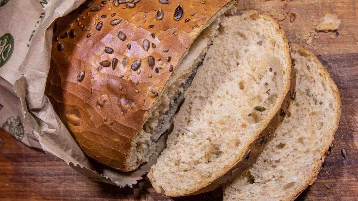 Receta de Pan con semillas de sésamo