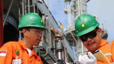 Trabajadores de BP (Foto_Europa Press)