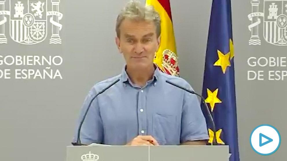 Fernando Simón, director del CCAES.