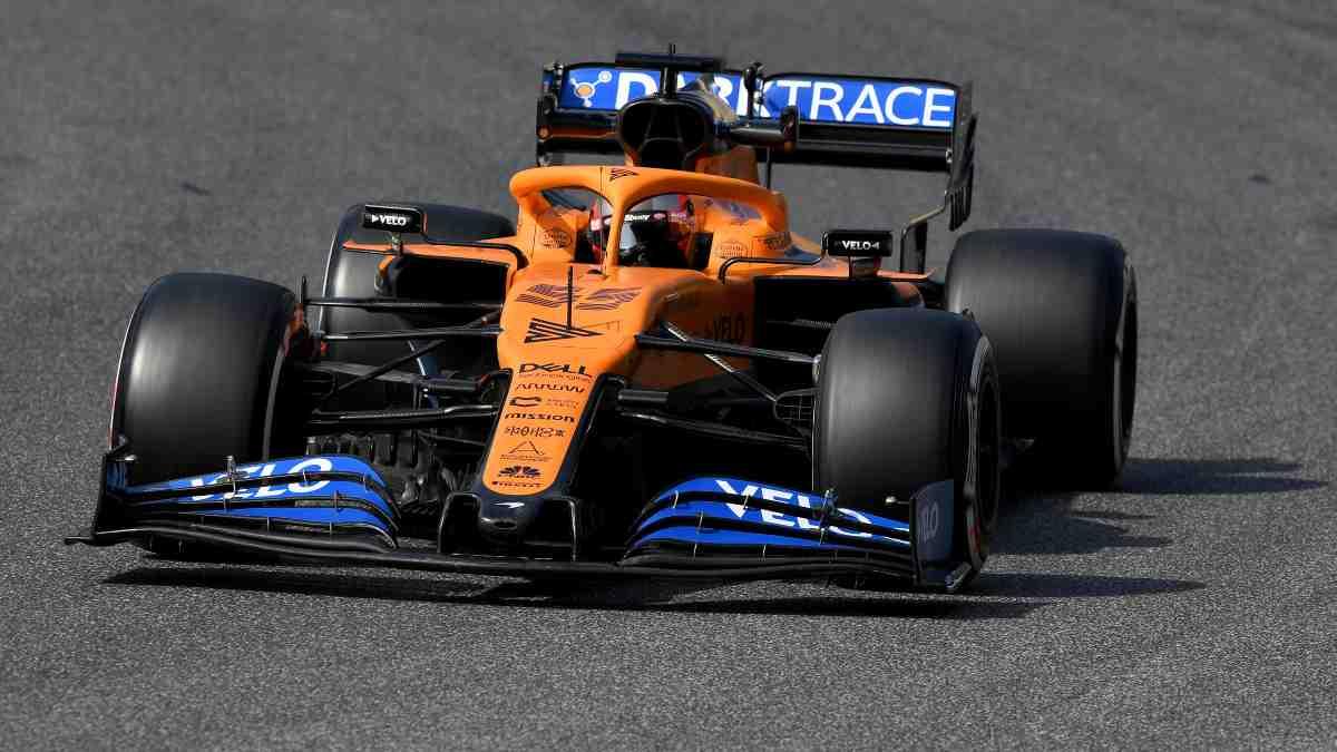 Carlos Sainz durante los Libres del GP de la Toscana. (AFP)