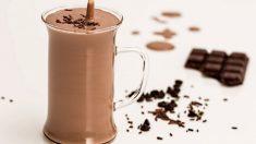 Batido de Nutella saludable