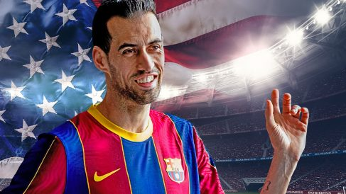 A Busquets le seduce jugar en Estado Unidos.