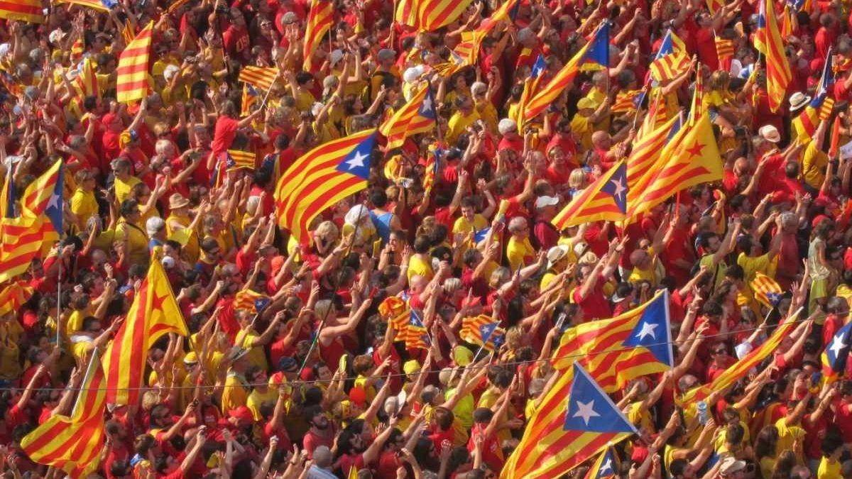 Diada de 2019 en Cataluña.