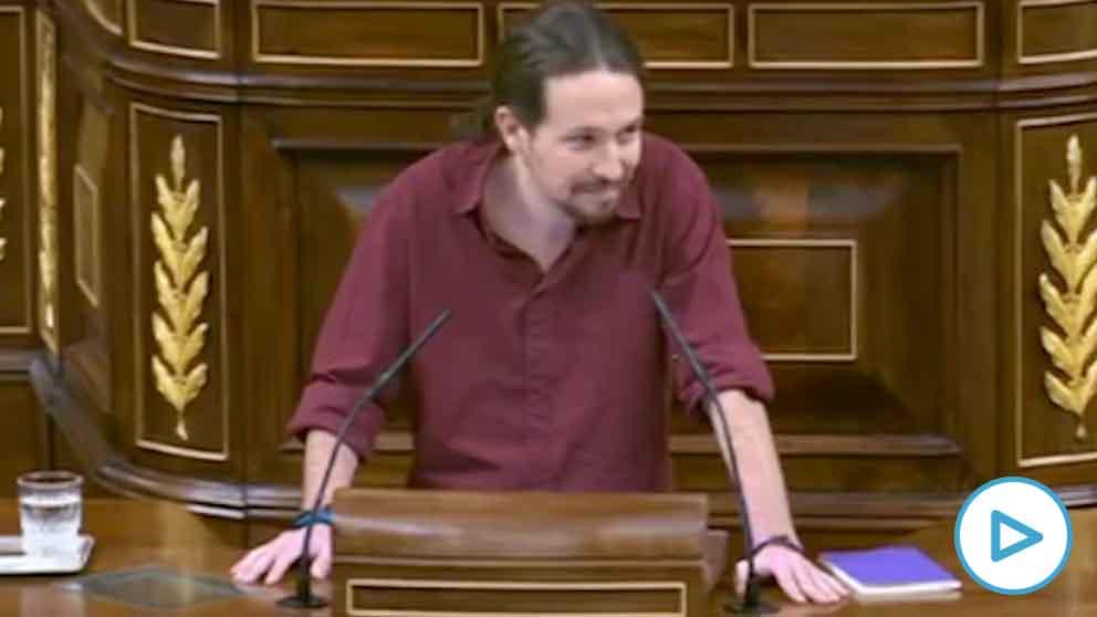 El líder de Podemos, Pablo Iglesias, y sus polémicas alusiones a Rita Maestre y Andrea Levy.