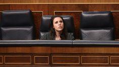 La ministra de Igualdad, Irene Montero, en el Congreso de los Diputados. (Foto: EP)