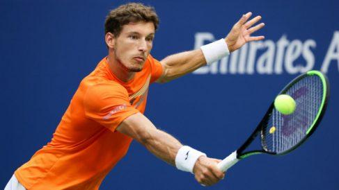 Pablo Carreño, en semifinales del US Open. (Getty)