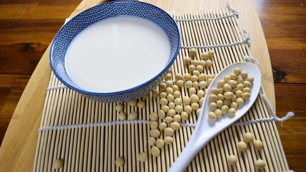Receta para hacer hacer leche de soja en la licuadora