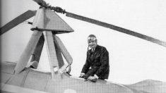 El 18 de septiembre de 1928 Juan De la Cierva realiza su primer vuelo en el autogiro