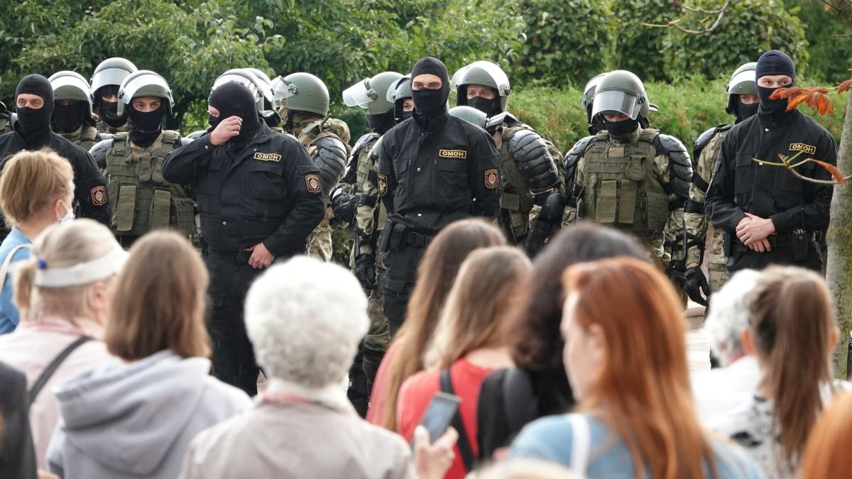 Protestas en Minsk, Bielorrusia. – Ulf Mauder/dpa