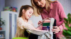 Los mejores consejos para que no pierdas el tiempo al preparar a los niños para ir a la escuela