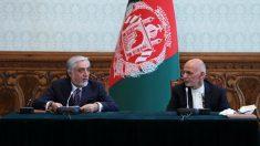 Abdulá Abdulá y Ashraf Ghani – CHEN XIN / XINHUA NEWS / CONTACTOPHOTO – Archivo
