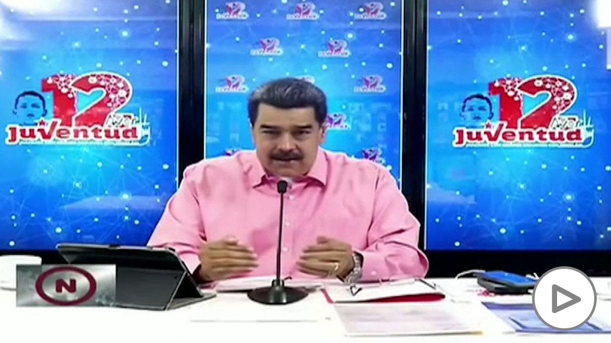 Maduro informa de la detención de un espía estadounidense en Venezuela