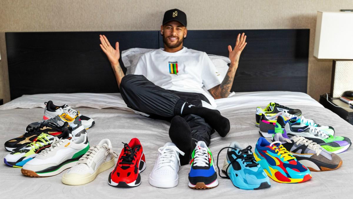 Neymar anuncia su fichaje por Puma. (Foto: Puma)