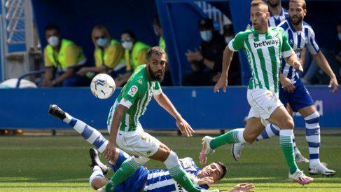 El Betis ganó al Alavés en la primera jornada de Liga. (EFE)