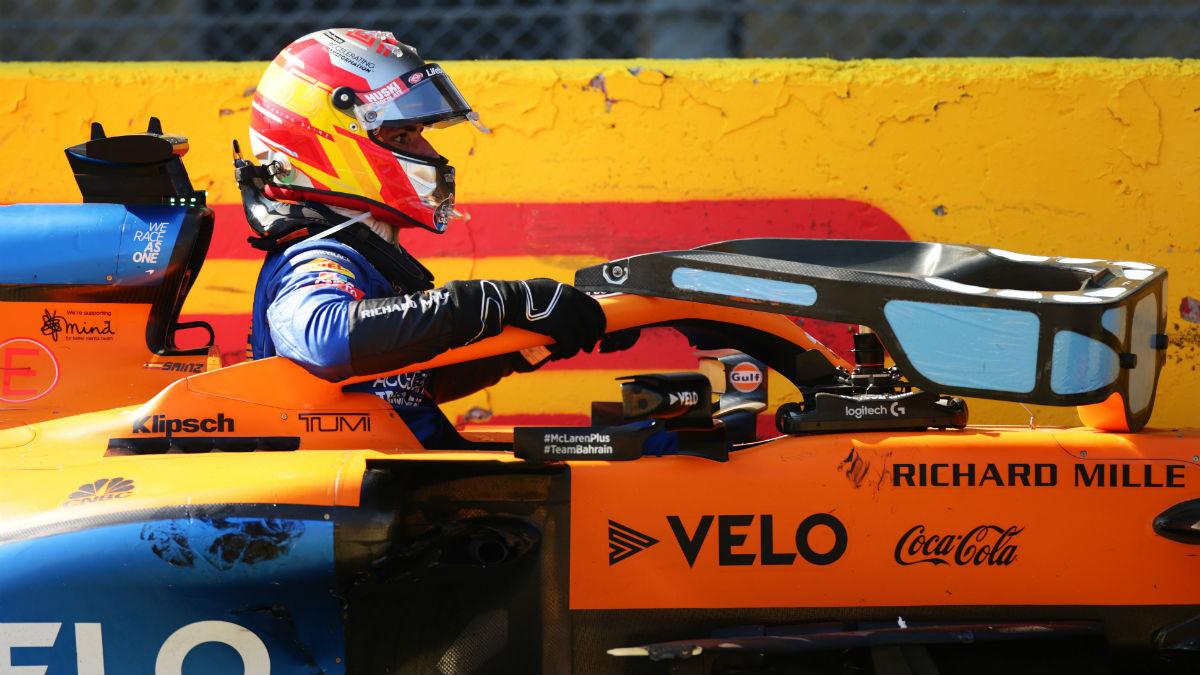 Carlos Sainz, en el GP de la Toscana. (Getty)