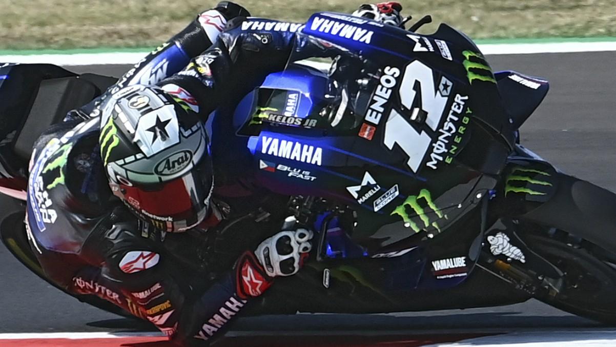 MotoGP GP San Marino 2020, en directo. (AFP)