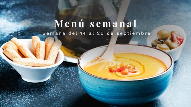 Menú semanal saludable: Semana del 14 al 20 de septiembre de 2020