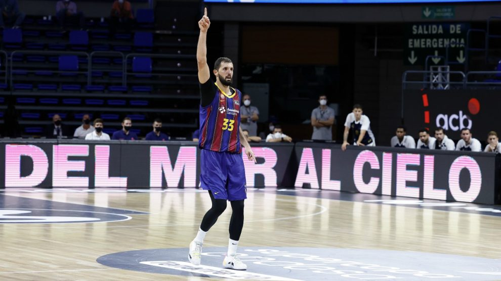 Mirotic, en la final de la Supercopa. (ACB Photo)